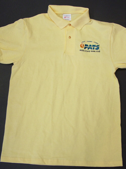 PATS Sport Shirt. Available in Yellow and White.